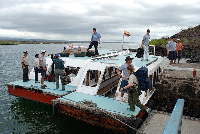 Transferring From Baltra Airport To Puerto Ayora  Galapagos Islands  Travel