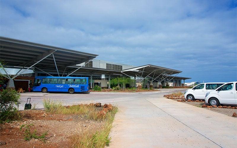 bus airport galapagos ecuador transfer vacations travel tours
