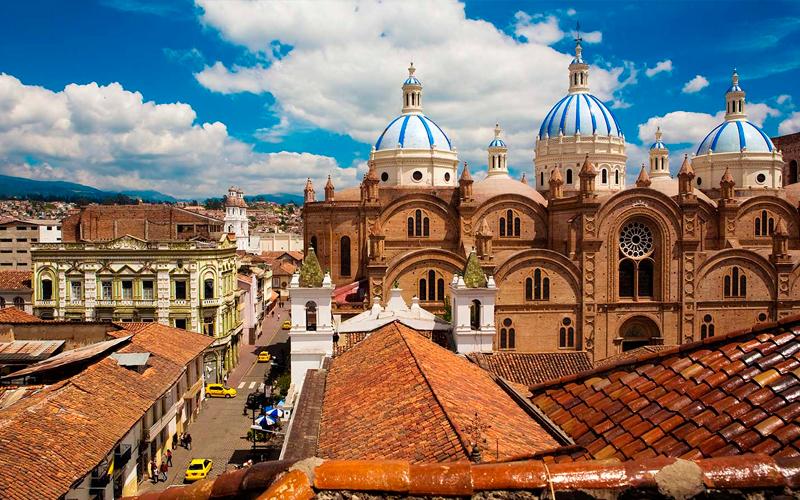 cuenca cathedral ecuador highlands