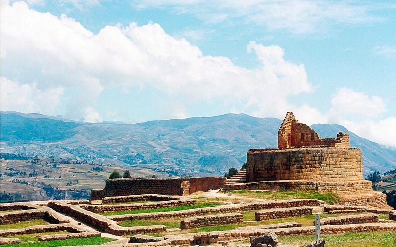 cuenca ingapirca ruins ecuador highlands