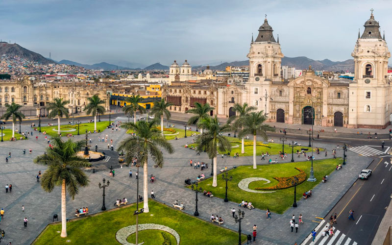 lima peru architecture church tourism travel