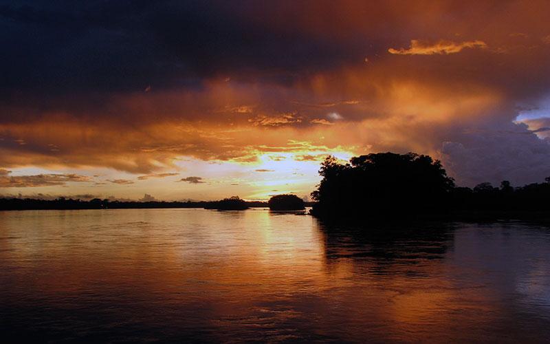 amazon jungle ecuador travel vacation summer sunset tour galapagos islands