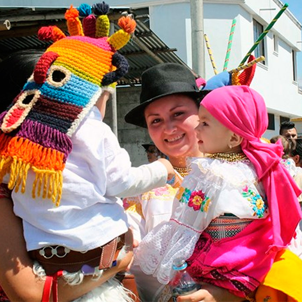 folklore ecuador festivities custom otavalo