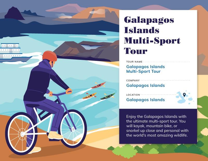Multi-Sport Galapagos Tours