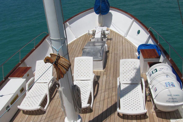 Samba Motor Sailor - Sun Deck