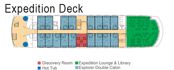 Santa Cruz II Expedition Deck
