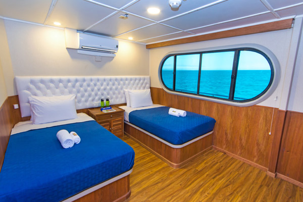 Twin Cabin - Upper Deck