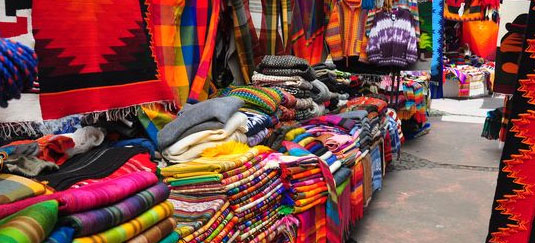 Otavalo Market And Its Surroundings