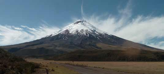 The Avenue Of The Andean Volcanoes