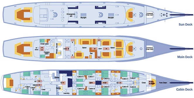 Mary Anne Deck Plan